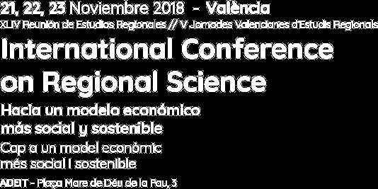 XLIV Reunión de Estudios Regionales